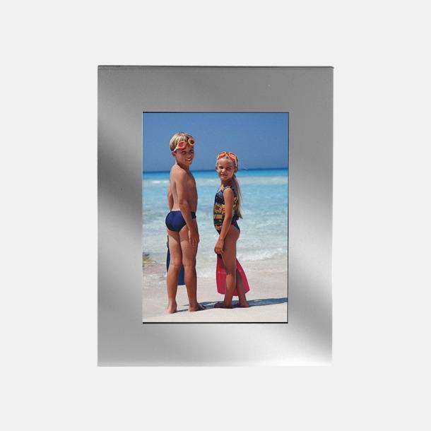 Silver Fotoramar att ställa på bordet eller hänga på väggen - med reklamtryck