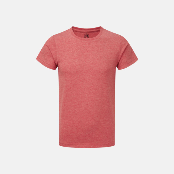 Red Marl HD barn t-shirts i med reklamtryck