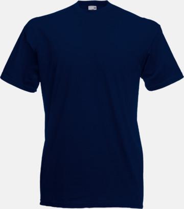 Deep Navy Valueweight t-shirt med tryck