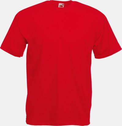 Red Valueweight t-shirt med tryck