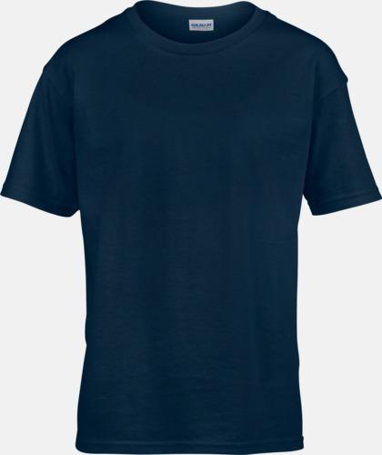 Marinblå Billiga t-shirts med reklamtryck