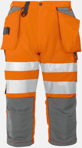 Orange (fram) Herrpiratbyxor Klass 2