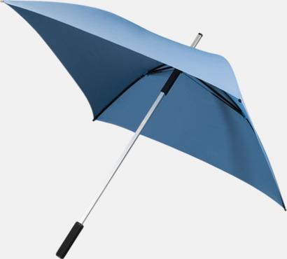 Ljusblå Paraplyer med tryck
