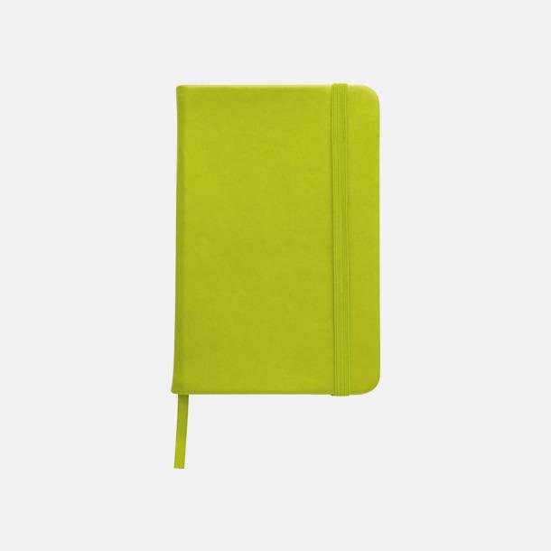 Ljusgrön Färgglada anteckningsböcker med tryck