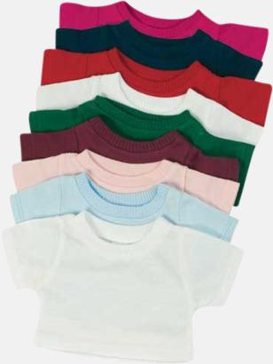 Enfärgade Enfärgade t-shirts eller med färgad kant - med reklamtryck