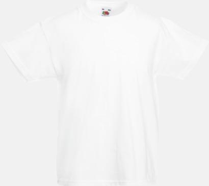 White T-shirt barn - Valueweigth barn t-shirt