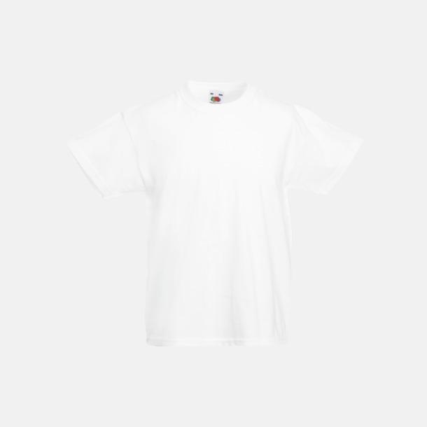 Vit T-shirt barn - Valueweigth barn t-shirt
