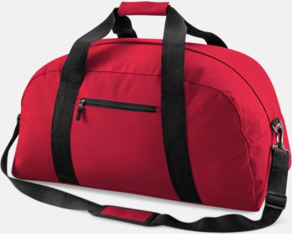 Classic Red Resväska med reklamtryck