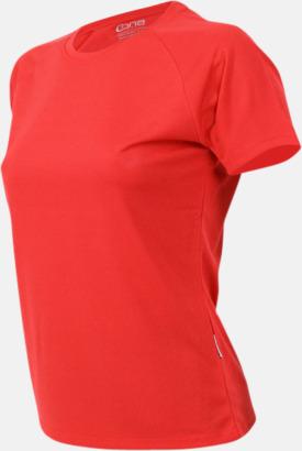Lobster red Sport t-shirts i många färger - med reklamtryck