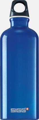 Mörkblå Transparent (0,6 liter) Äkta SIGG-flaskor med eget tryck