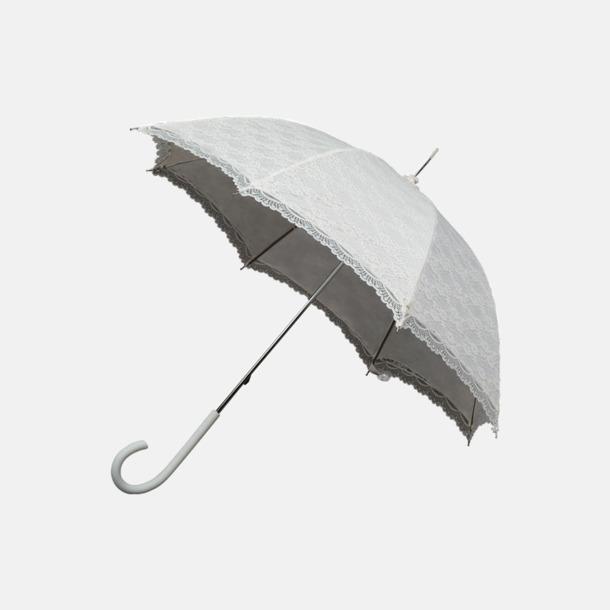 Off-white Unika spets paraplyer med eget reklamtryck