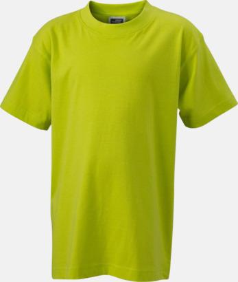 Acid Yellow Barn t-shirtar av kvalitetsbomull med eget tryck