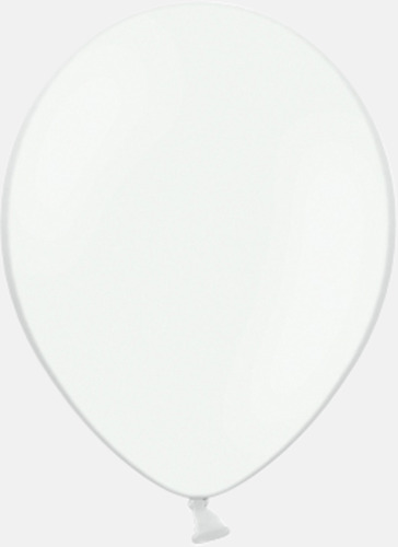 002 White Reklamballonger med fototryck