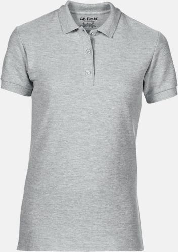 Sport Grey (heather) Billiga dampikétröjor med tryck