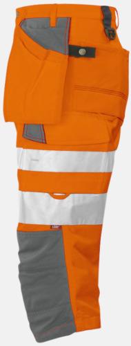 Orange (sida) Herrpiratbyxor Klass 2
