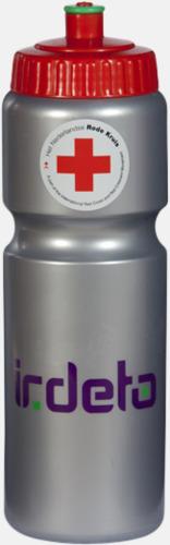Sportiga vattenflaskor i 3 storlekar - med reklamtryck