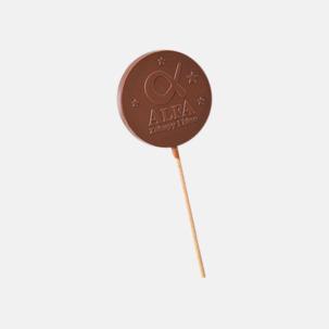 Gjutna chokladklubbor