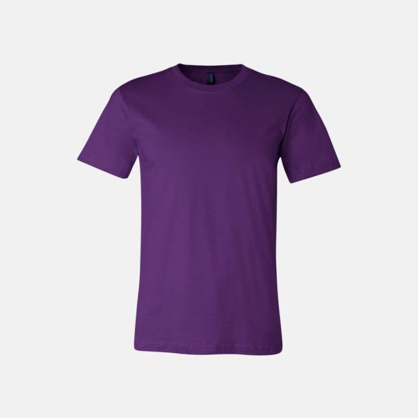 Team Purple T-shirts för herr och dam - med reklamtryck