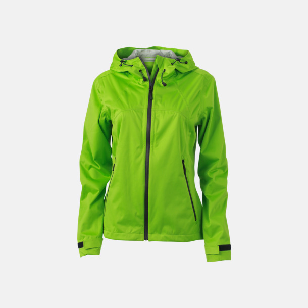 Spring Green/Iron Grey (dam) Trekkingjackor i herr- & dammodell med reklamtryck