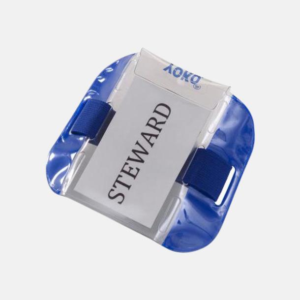 Marinblå Vattentäta ID-armband med reflex