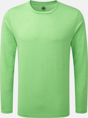 Green Marl (herr) Färgstarka långärms t-shirts i herr-, dam och barnmodell