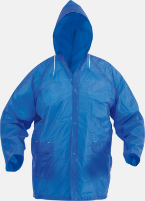 Blå Billiga regnkappor med fodral