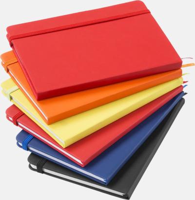 Medium Notisblock med PVC-omslag - med tryck