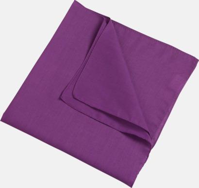 Lila (scarf) Bandanas i två varianter med reklambrodyr
