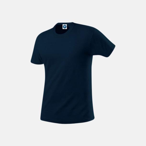 Deep Navy Herr t-shirts i ekologisk bomull