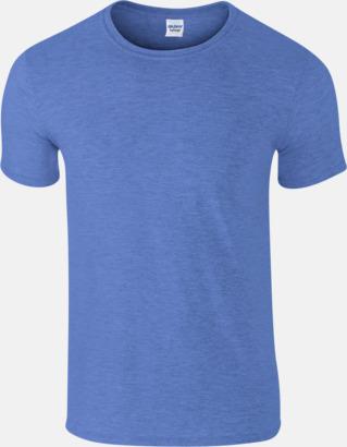 Heather Royal Billiga t-shirts med tryck