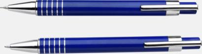 Pennset med bläck- och blyertspenna i fodral
