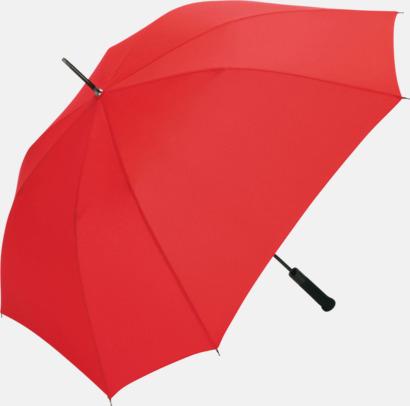 Röd Paraplyer med tryck