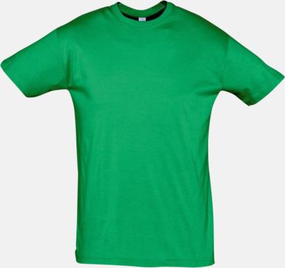 Kelly Green Billiga herr t-shirts i rmånga färger med reklamtryck