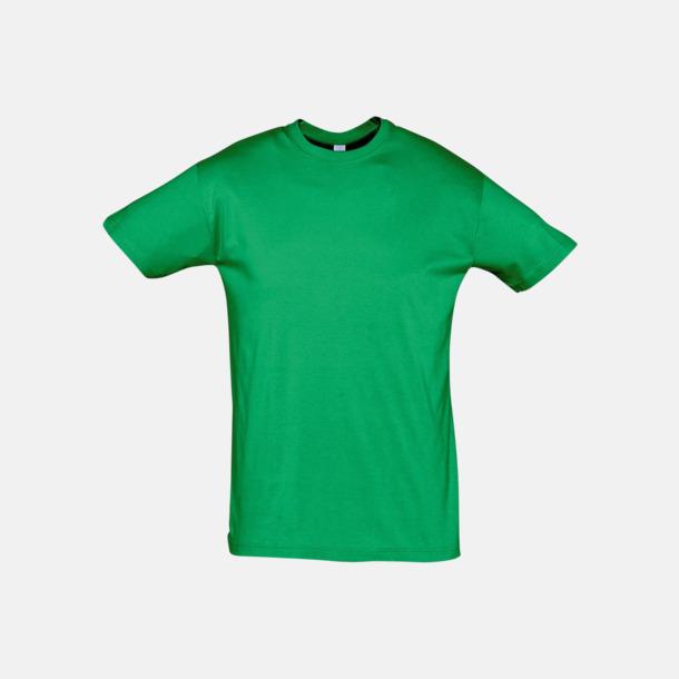 Kelly Green Billiga unisex t-shirts i många färger med reklamtryck