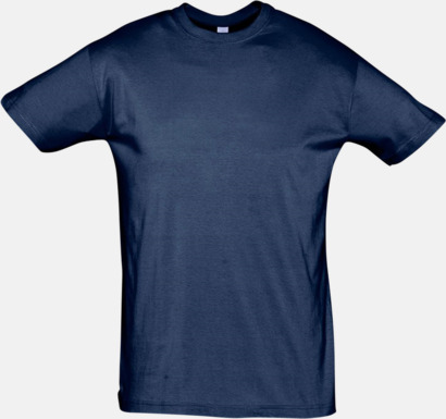 French Navy Billiga herr t-shirts i rmånga färger med reklamtryck