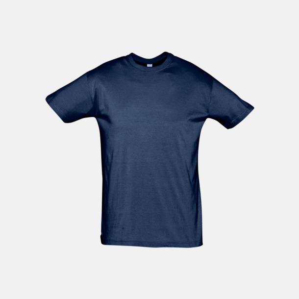French Navy Billiga unisex t-shirts i många färger med reklamtryck