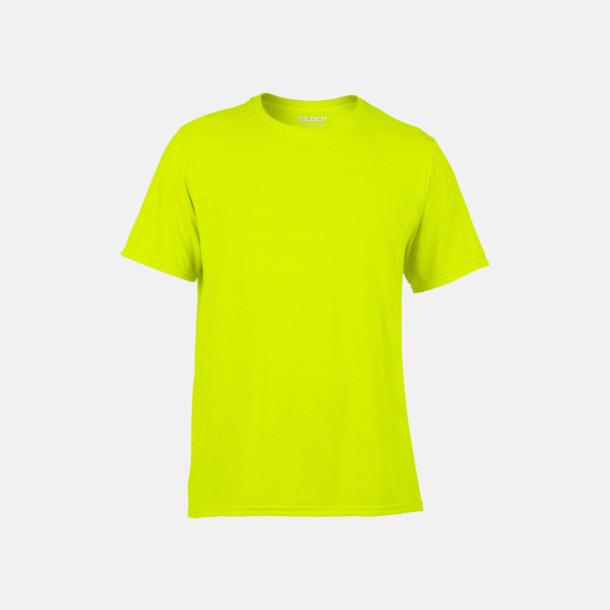 Safety Green Funktionströjor med eget tryck