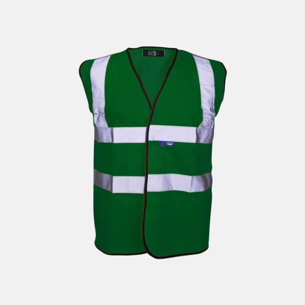 Paramedic Green Färgglada säkerhetsvästar med reklamtryck