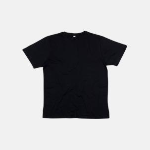 Ekologiska t-shirts i herrmodell med reklamtryck