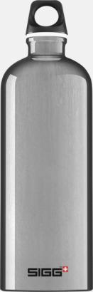 Aluminium (1,0 liter) Äkta SIGG-flaskor med eget tryck