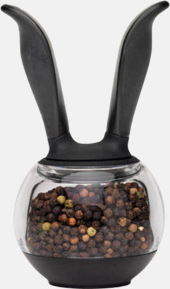 Svart / Transparent Unika kryddkar för peppar