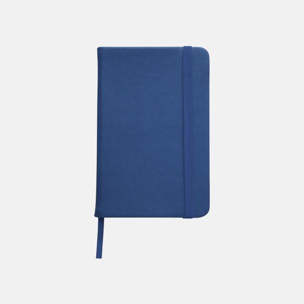Blå Färgglada anteckningsböcker med tryck