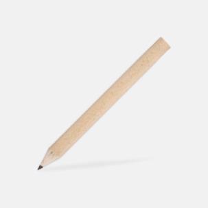 Små blyertspennor med tryck