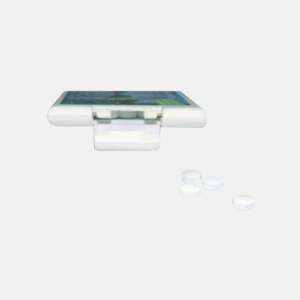 Vit (digitaltryck) Askkort med sockerfritt mintgodis - med reklamtryck