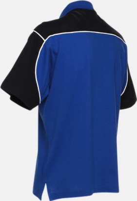 Sportiga pikétröjor för i herrmodell - med reklamtryck eller -brodyr