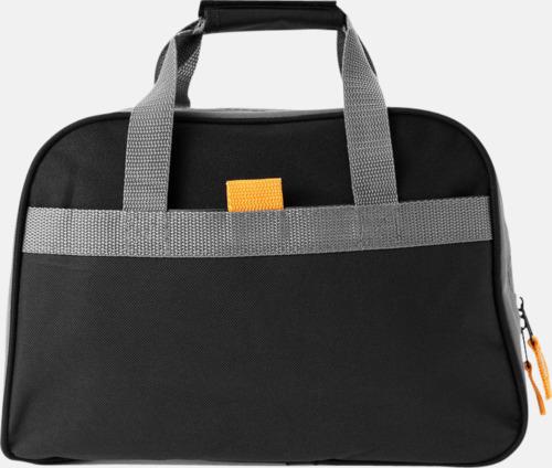 Svart/Grå/Orange Kit med träningsredskap