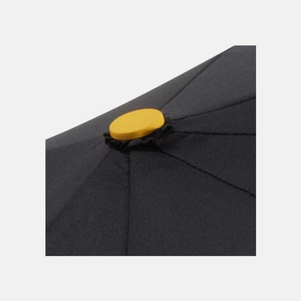 Paraplyer med skaftet på sidan - med reklamtryck