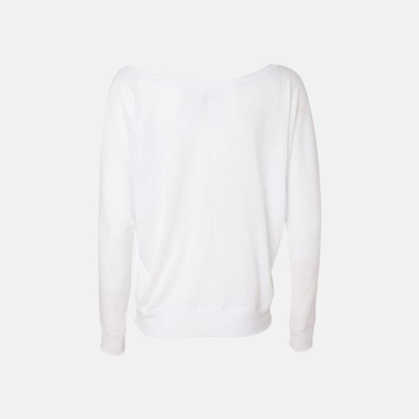 Långärmade dam t-shirts med reklamtryck