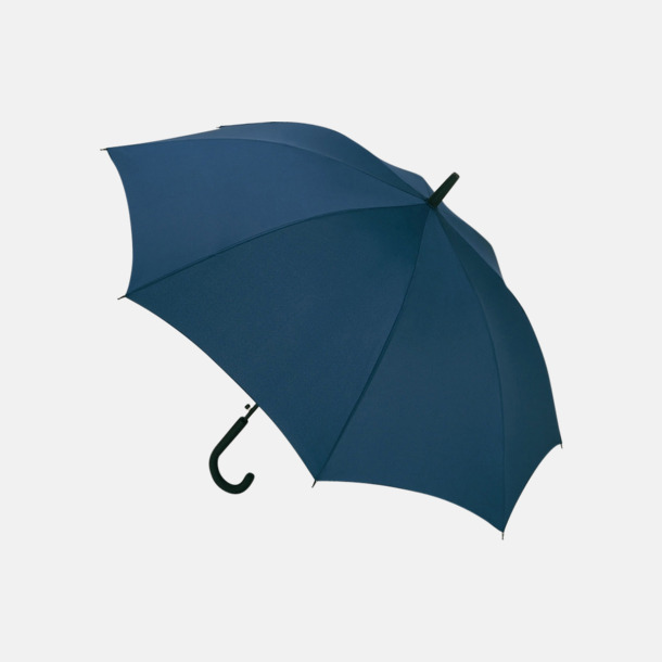 Marinblå Paraplyer med reklamtryck