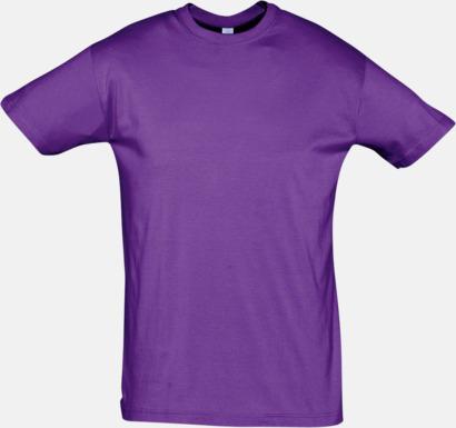 Light Purple Billiga herr t-shirts i rmånga färger med reklamtryck